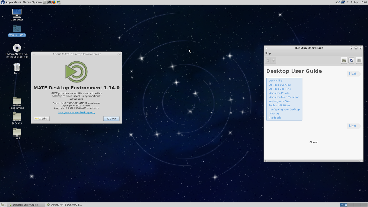 MATE Desktop Environment 1.14